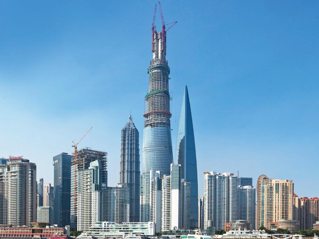 gensler design update shanghai tower