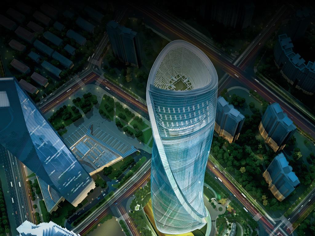 Pics For Gt Shanghai Tower Inside